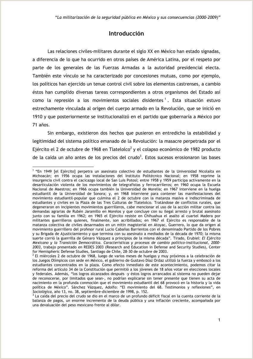 PDF La militarizaci³n de la seguridad pºblica en México y