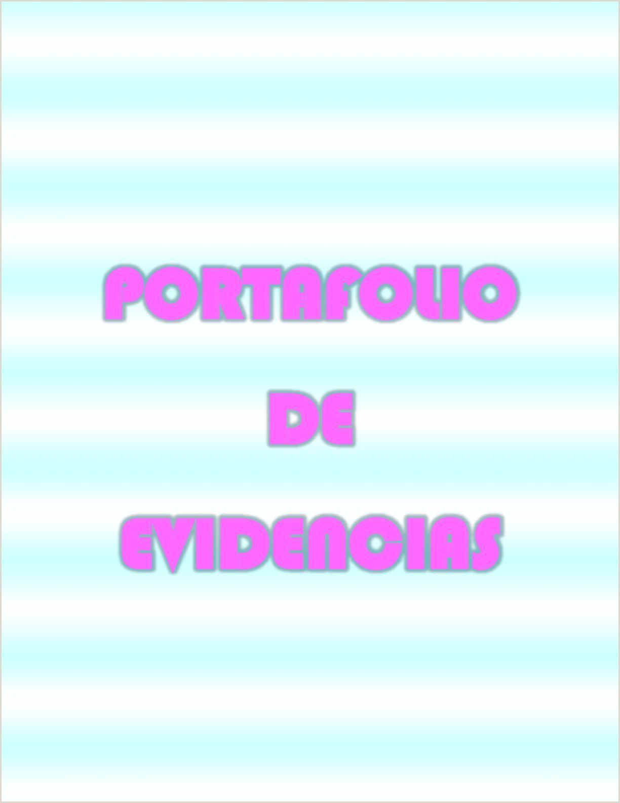Calaméo Portafolio De Evidencias