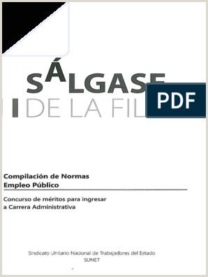Formato Unico Hoja De Vida Cnsc.gov.co Salgase De La Fila Administraci³n Pºblica