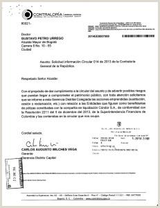 Formato Unico Hoja De Vida Fiduprevisora Actuaci³n Especial De Fiscalizaci³n Control Excepcional