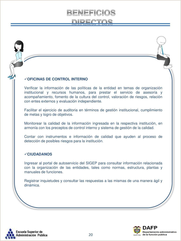 """Formato Unico Hoja De Vida Funcion Publica Sigep Ppt Sistema De Informaci""""n Y Gesti""""n Del Empleo Pšblico"""