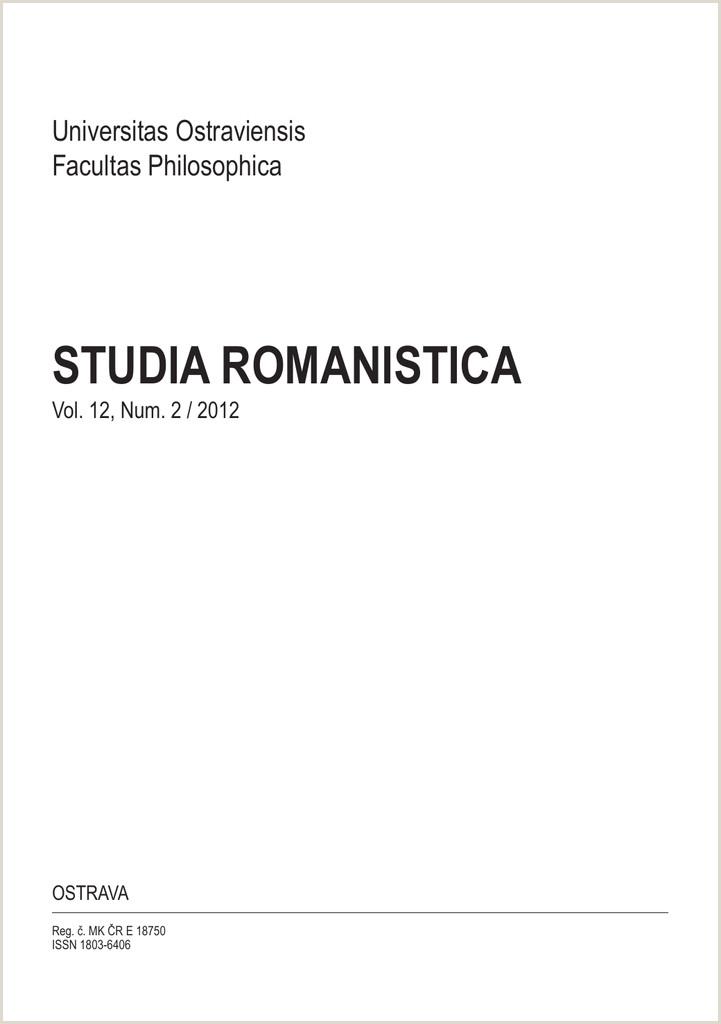 studia romanistica Dokumenty