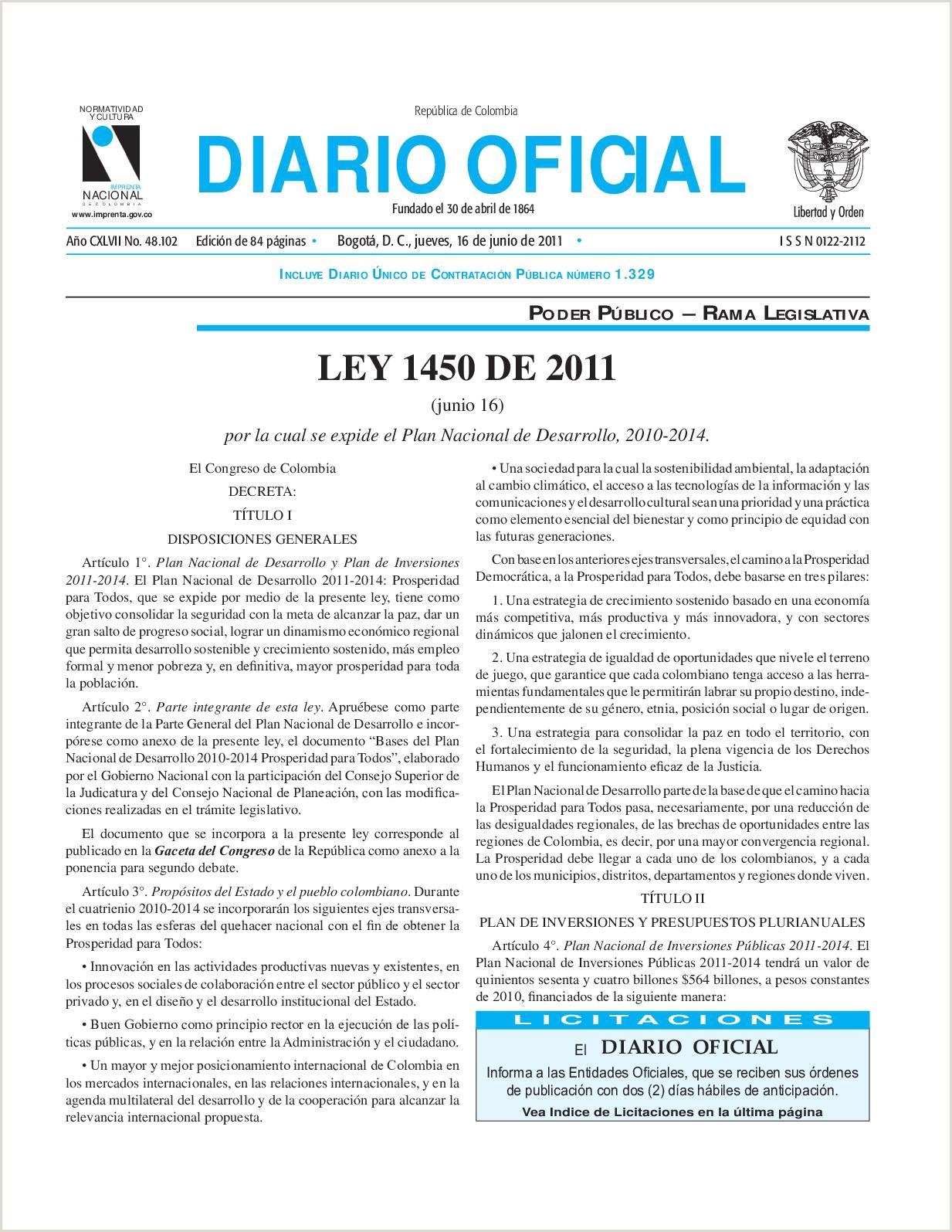 Calaméo Ley 1450 De 2011