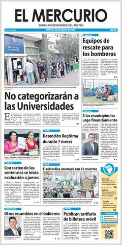 El Mercurio 20 08 2019 by Diario El Mercurio Cuenca issuu