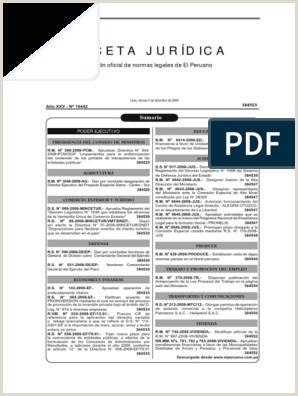 Formato Unico Hoja De Vida Persona Juridica Excel normas Legales 5 12 2008 Regulaci³n