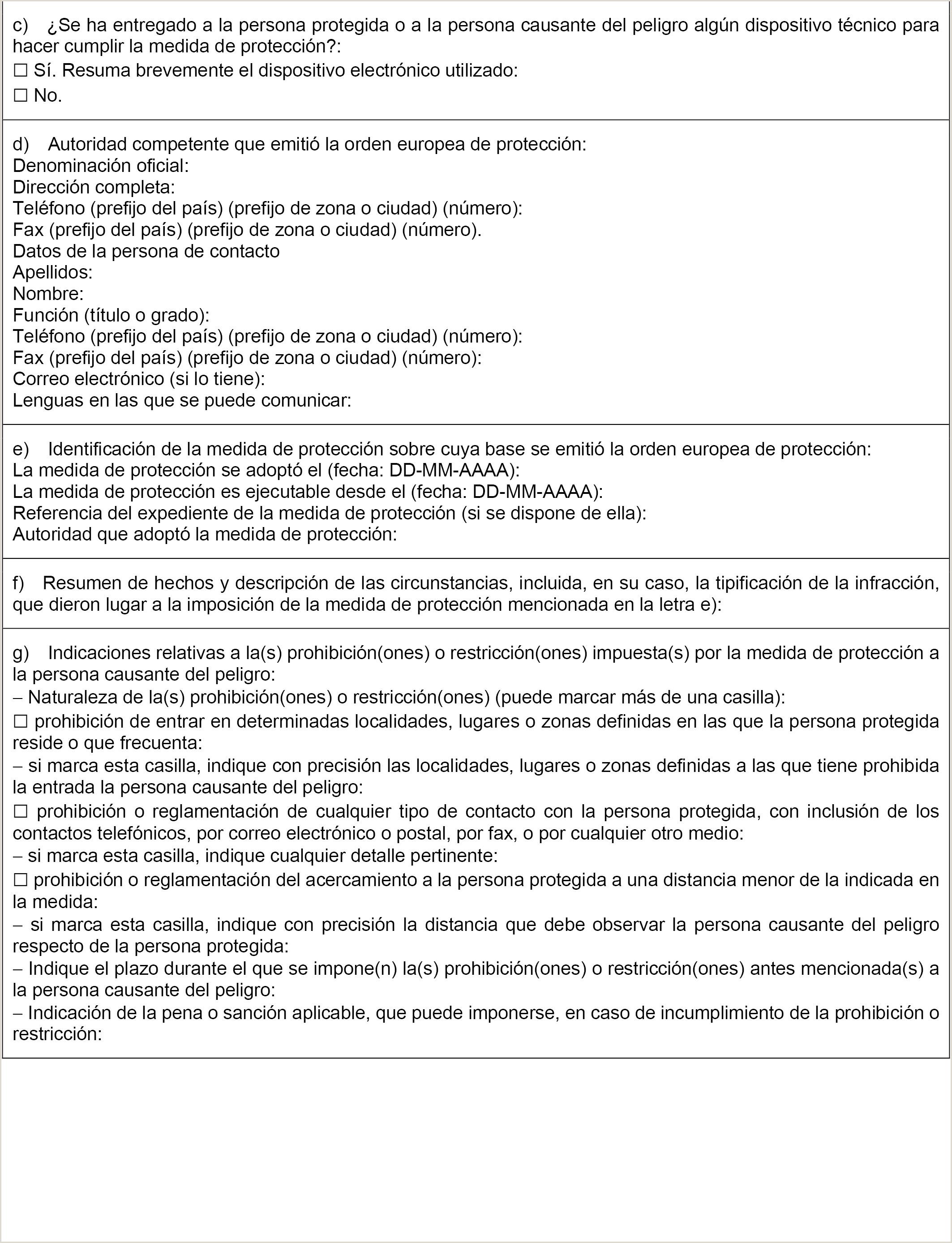 Formato Unico Hoja De Vida Persona Natural Ley 190 Boe Documento Consolidado Boe A 2014