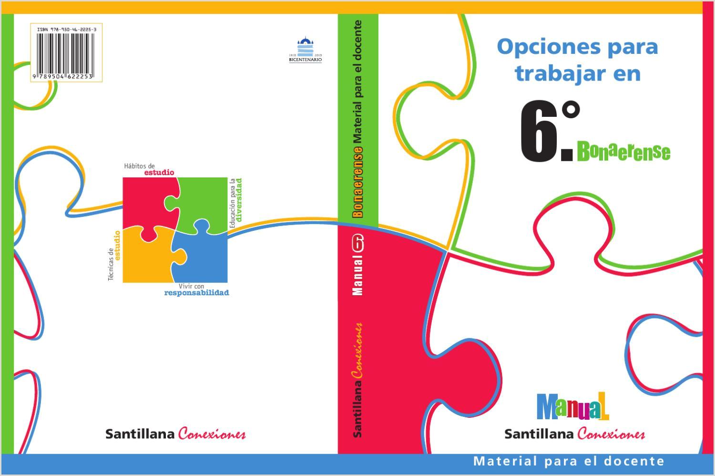 Formato Unico Hoja De Vida Persona Natural Para Imprimir Manual Santillana Conexiones 6 Bonaerense by Marcela Lalia