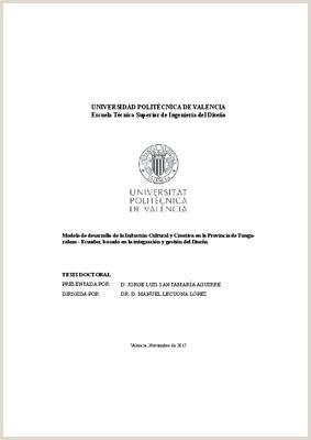 UNIVERSIDAD POLITéCNICA DE VALENCIA Escuela Técnica Superior