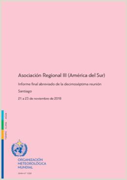 Asociaci³n Regional III América del Sur Informe final