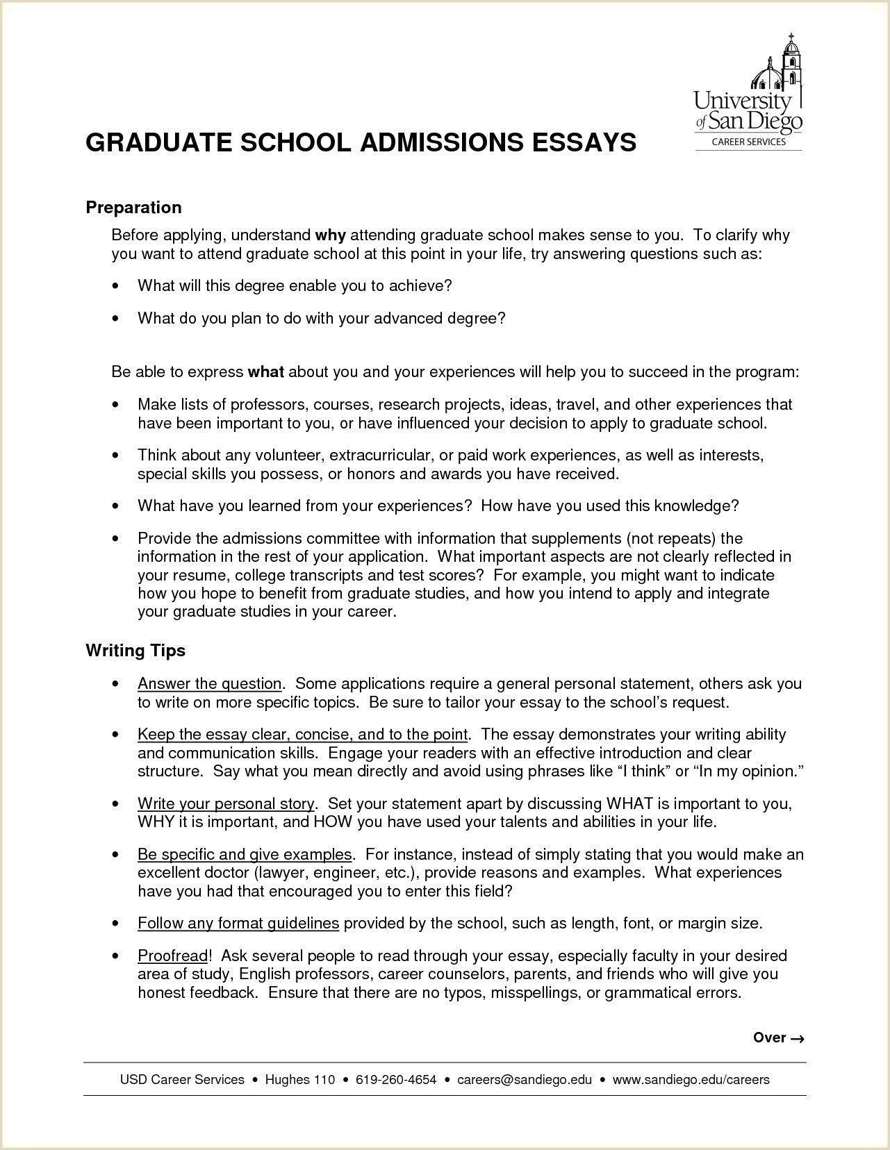 Graduate School Application Resume Best Elegant Recent