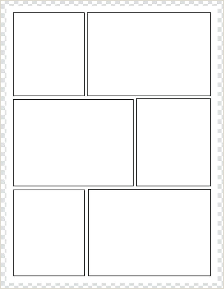 cartoon panel template