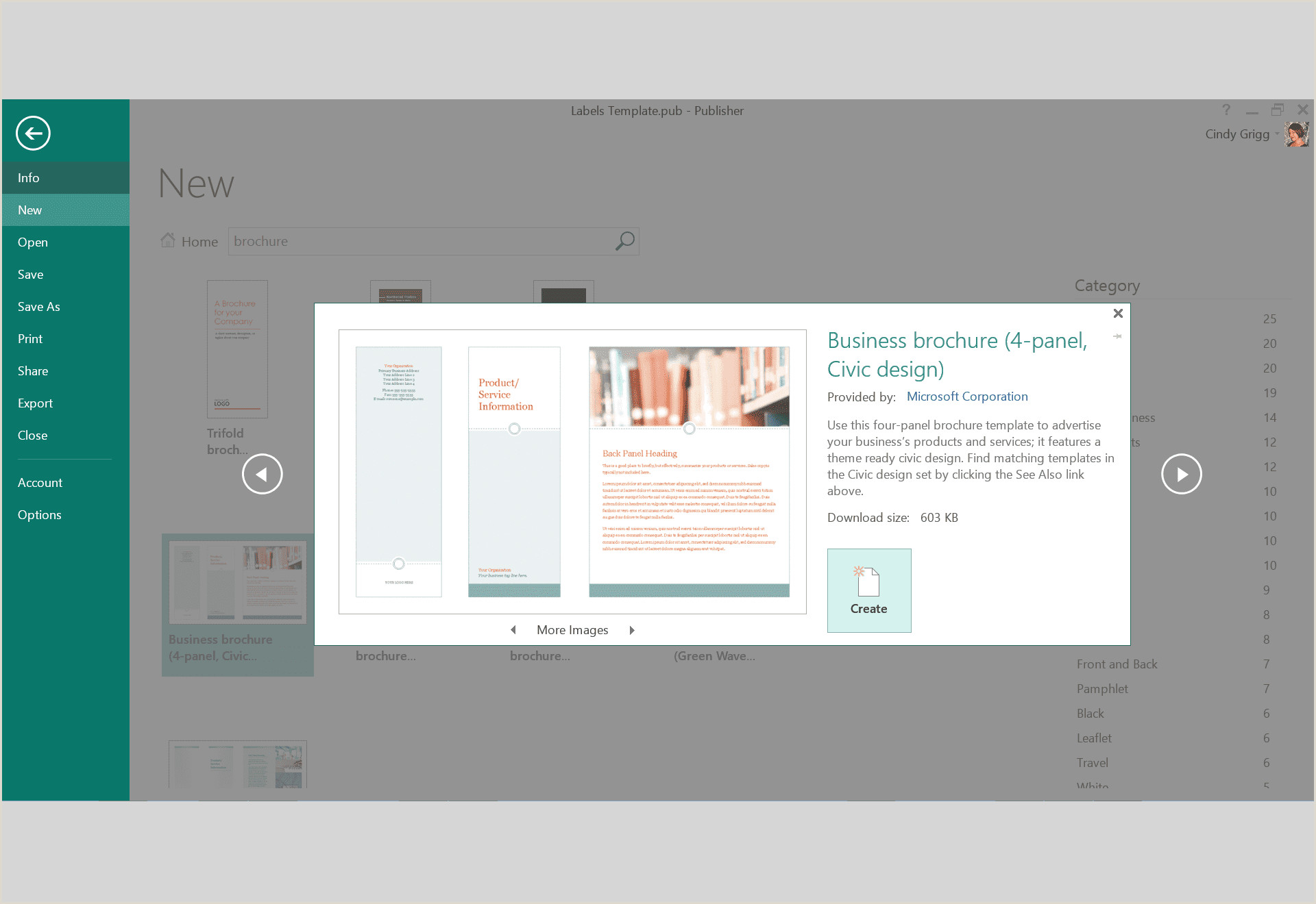 Free Design Templates for Microsoft Publisher