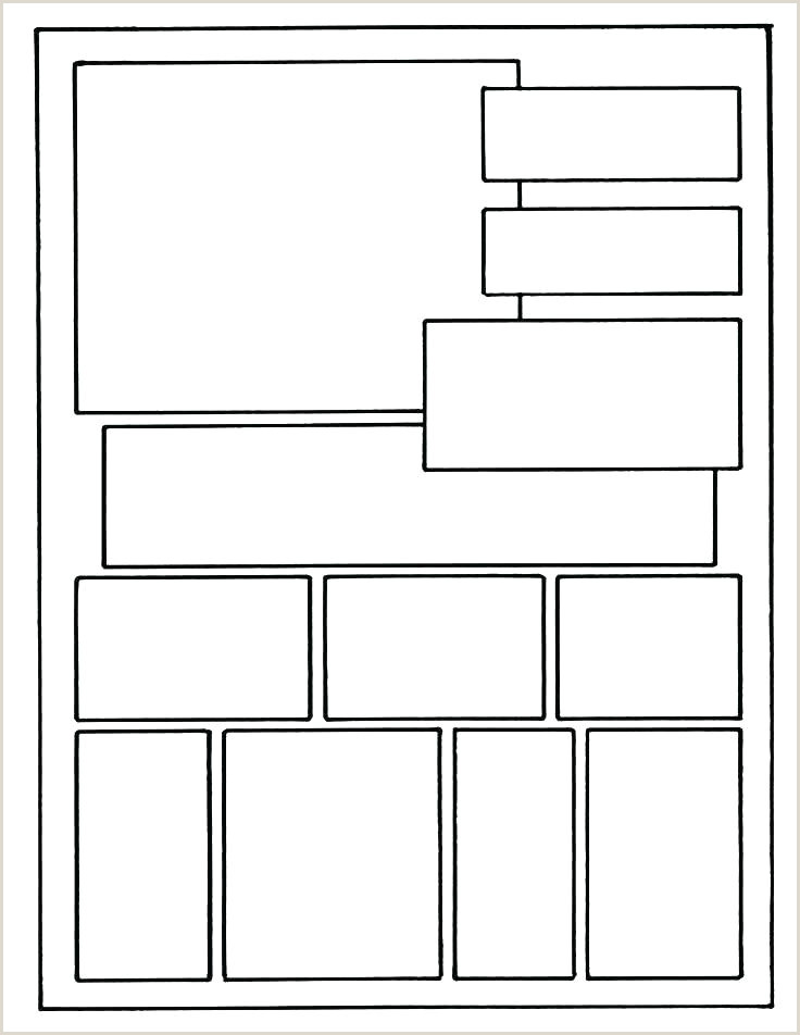 Four Panel Comic Template Ic Book Template Creator Strip Panel Layout Best