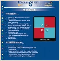 Four Square Writing Graphic organizer Four Square Stencil