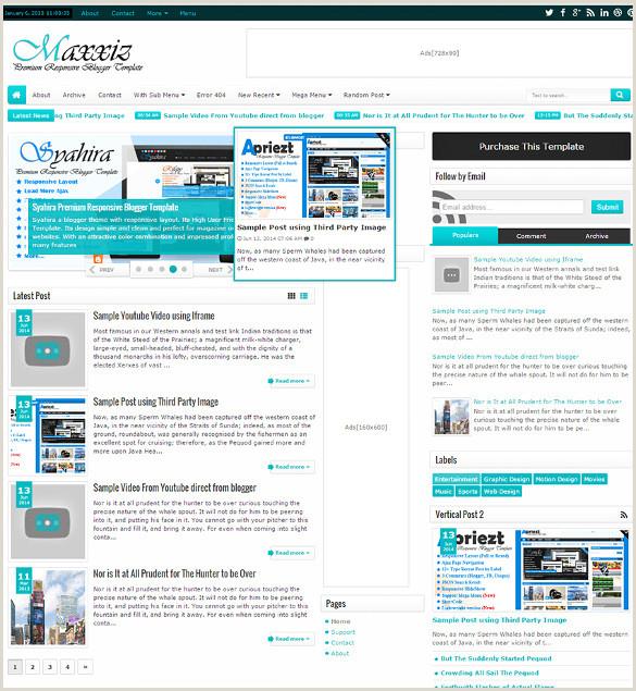 44 Professional Blog Themes & Templates