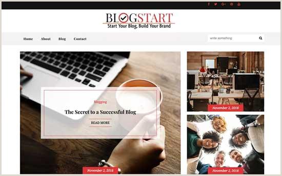Free Blogger Templates Vintage 61 Best Free Wordpress Blog themes for 2019 Expert Pick