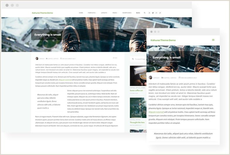 Kahuna The big kahuna among WordPress themes