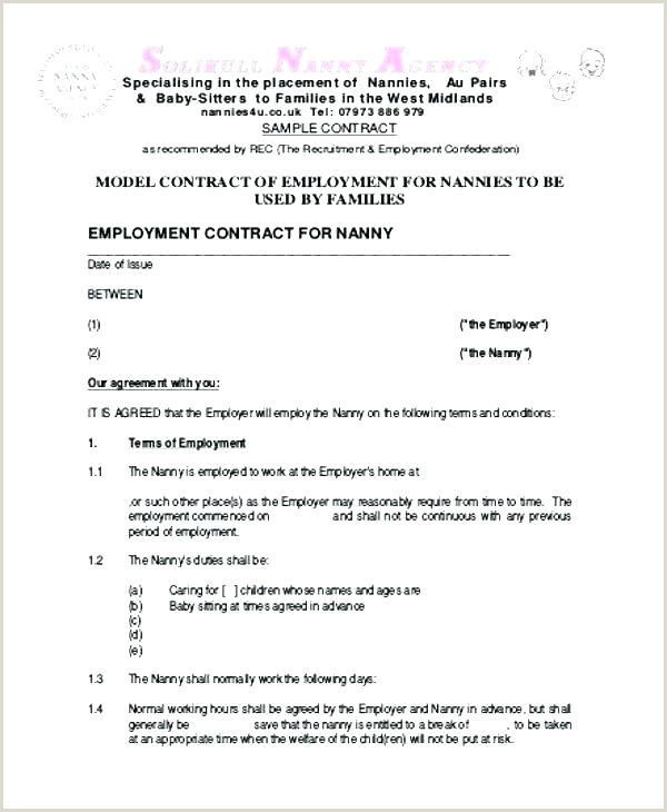 simple works contract template