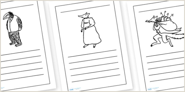 FREE Writing Frames to Support Teaching on Fantastic Mr
