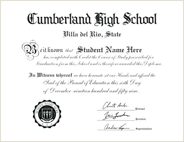 Free Editable High School Diploma Templates Free High School Diploma Templates Template Word