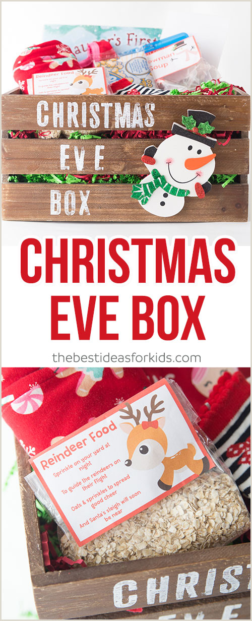 Free Egg Carton Label Template Christmas Eve Box Diy Ideas and Free Printables