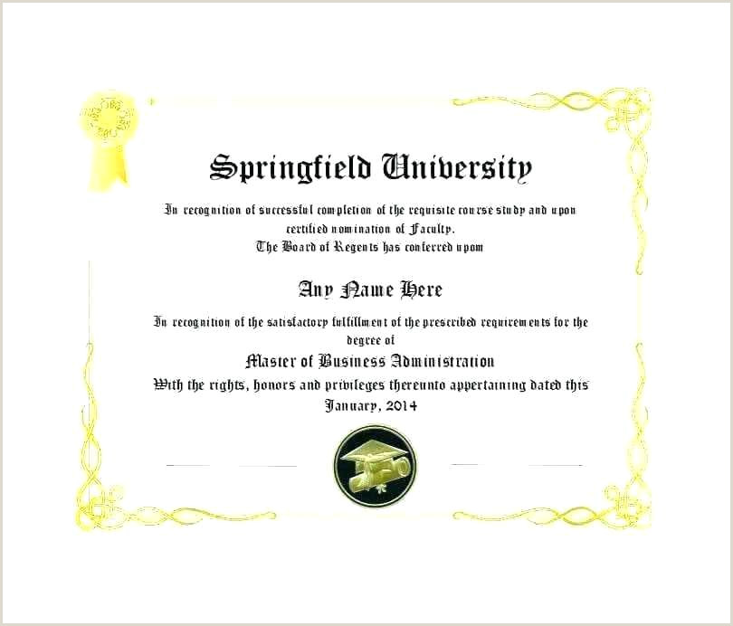Continuing Education Certificate Fake Diploma Template Birth