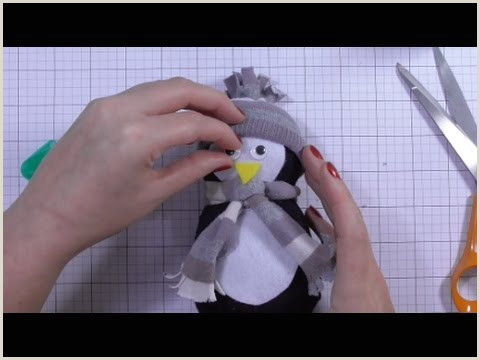 Free Felt Bird Pattern Day One Diy No Sew sock Penguin
