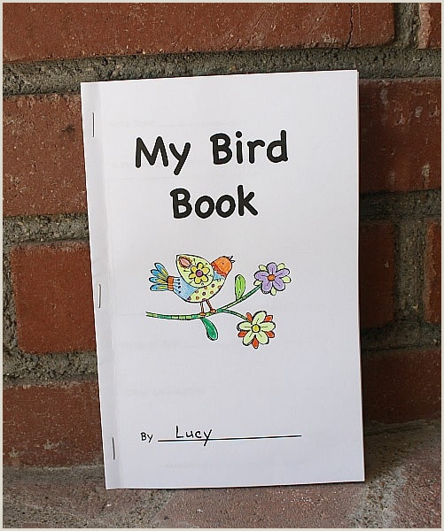 Free Felt Bird Pattern Free Printable Bird Book for Birding with Kids Buggy and Buddy