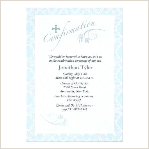 Free First Communion Invitation Template Confirmation Invitation Template