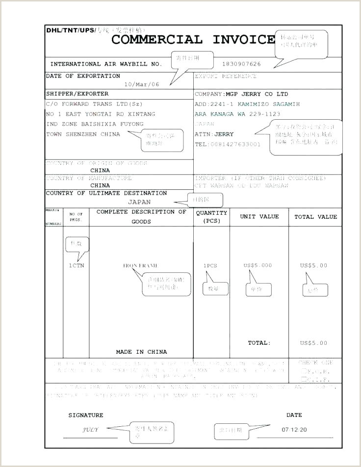 Free Invoice Template for Mac Pages Proforma Invoice Template Templates for Google Docs Free E