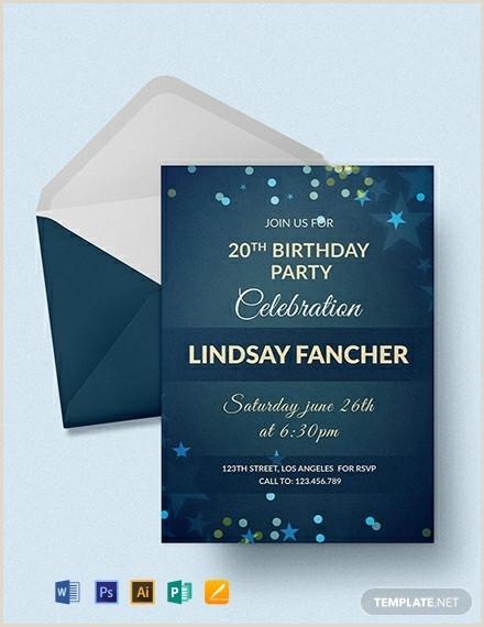 Beautiful Free E Birthday Invitation Templates Idea