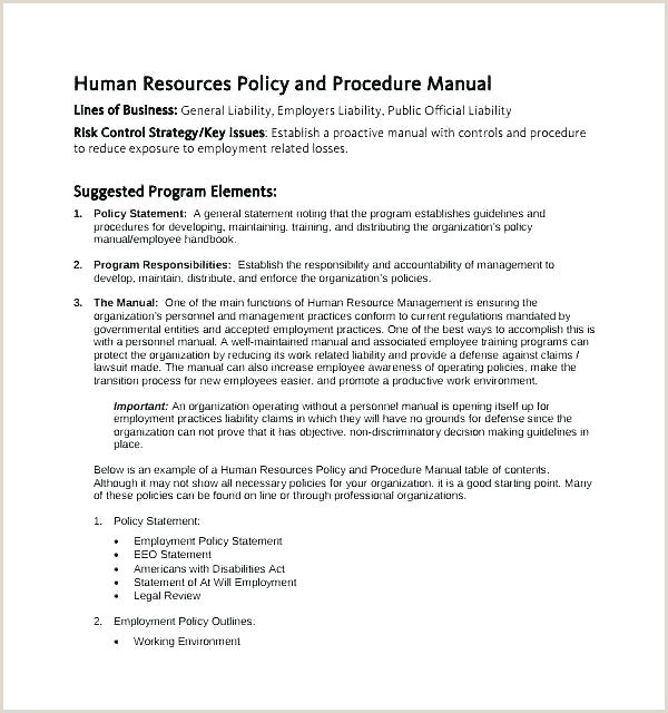 Free Medical Office Policy and Procedure Manual Office Manual Template