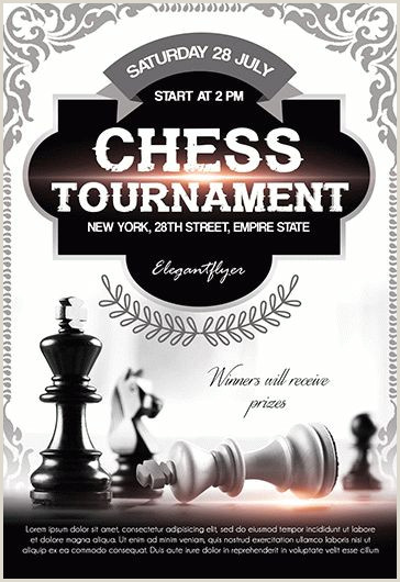 Chess Tournament – Free Flyer PSD Template