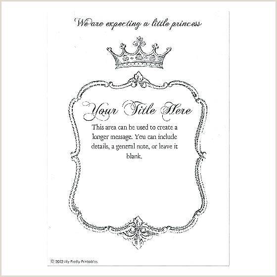 Birthday Crown Admin Crown Invitation Template Free Crown