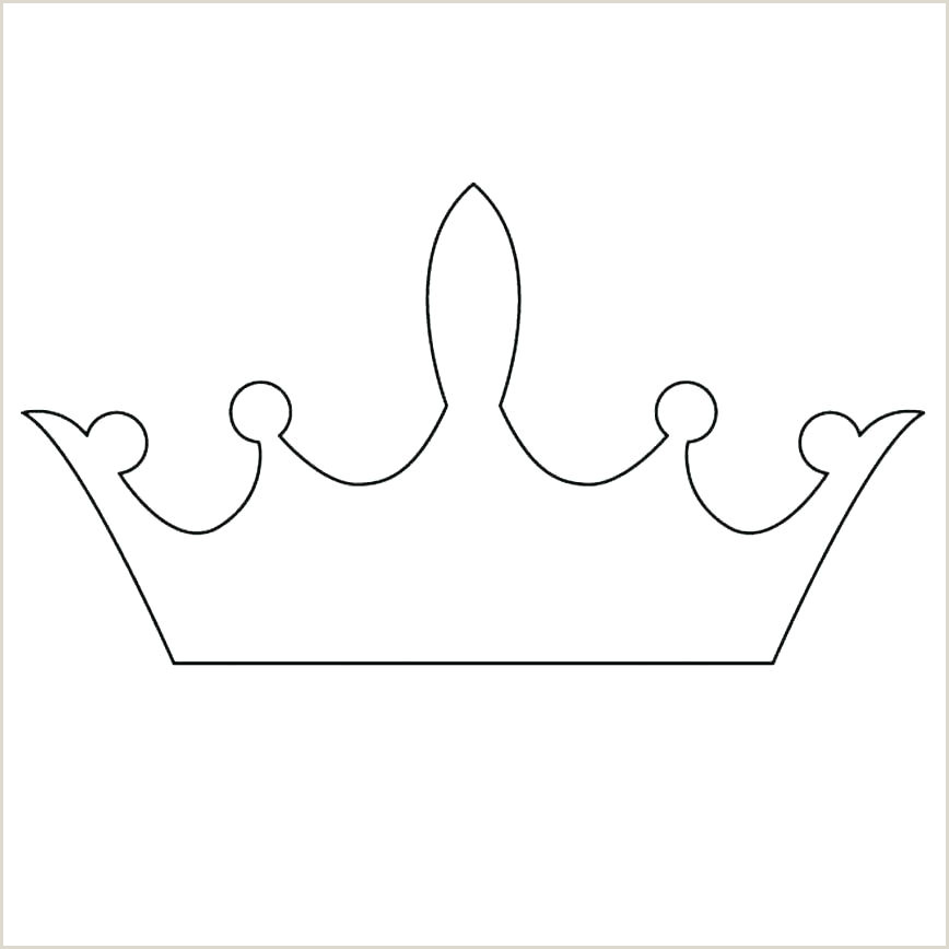 Free Princess Crown Template Printable Crown Outline Template – Digitalhustle