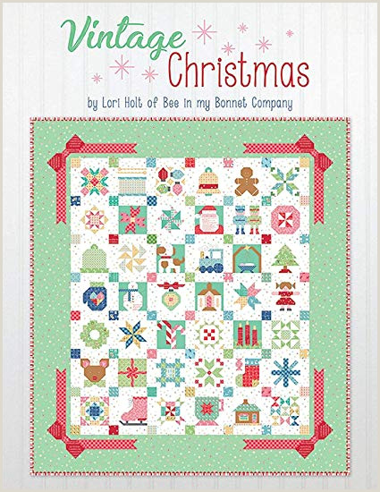 It s Sew Emma Vintage Christ mas Quilt Book by Lori Holt of Bee in My Bonnet