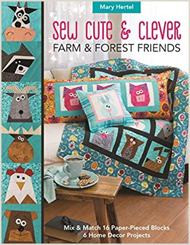 Free Printable Barn Quilt Patterns Sew Cute & Clever Farm & Forest Friends Mix & Match 16