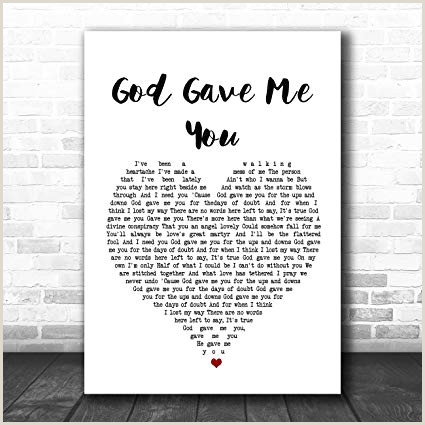 Free Printable Brick Paper Amazon Blake Shelton God Gave Me You Heart song Lyric