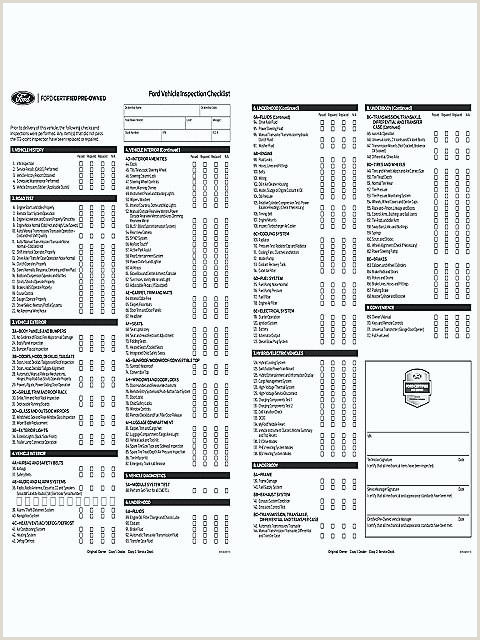 weekly vehicle inspection checklist template – interestor