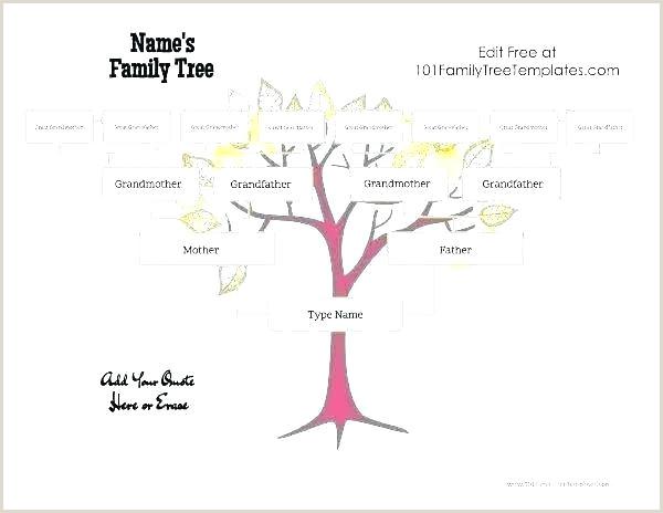 Family Tree Template Printable Free Printable Family Tree