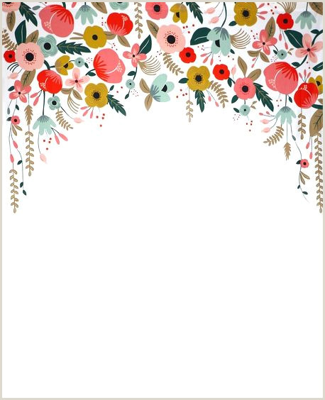 Watercolor Floral Border Paper Printable at GetDrawings