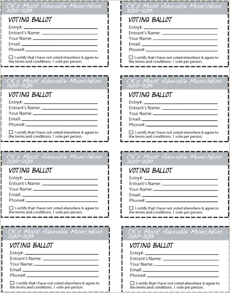 Proxy Form Template Proxy Voting Form Template