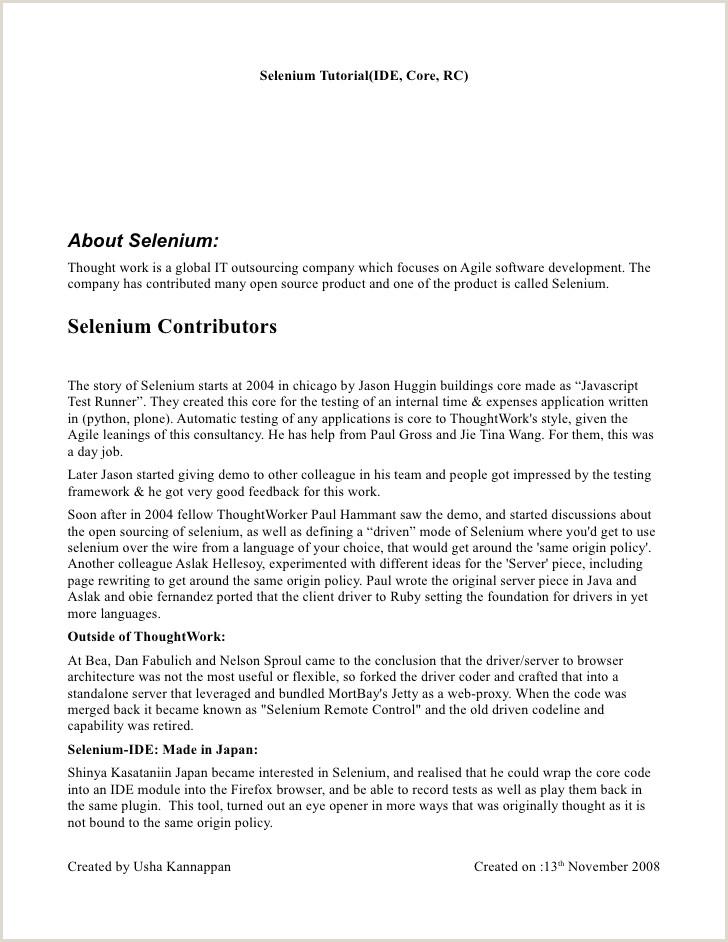 Basics of Selenium IDE Core Remote Control