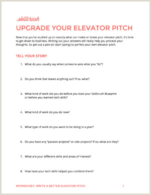 Freelance Audio Engineer Resume How to Write An Elevator Pitch A Step by Step Guide