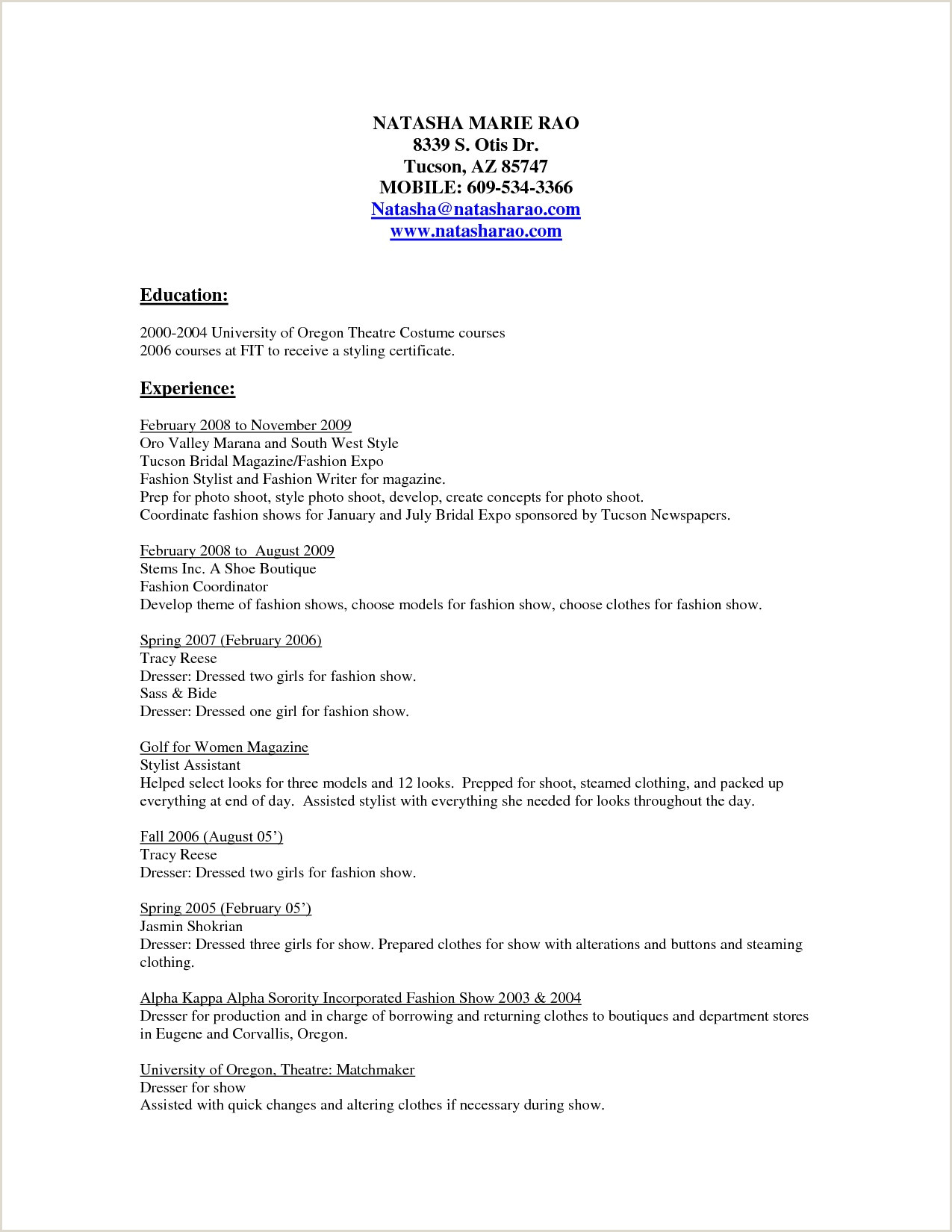 Freelance Hair Stylist Resume 10 Freelance Stylist Resume