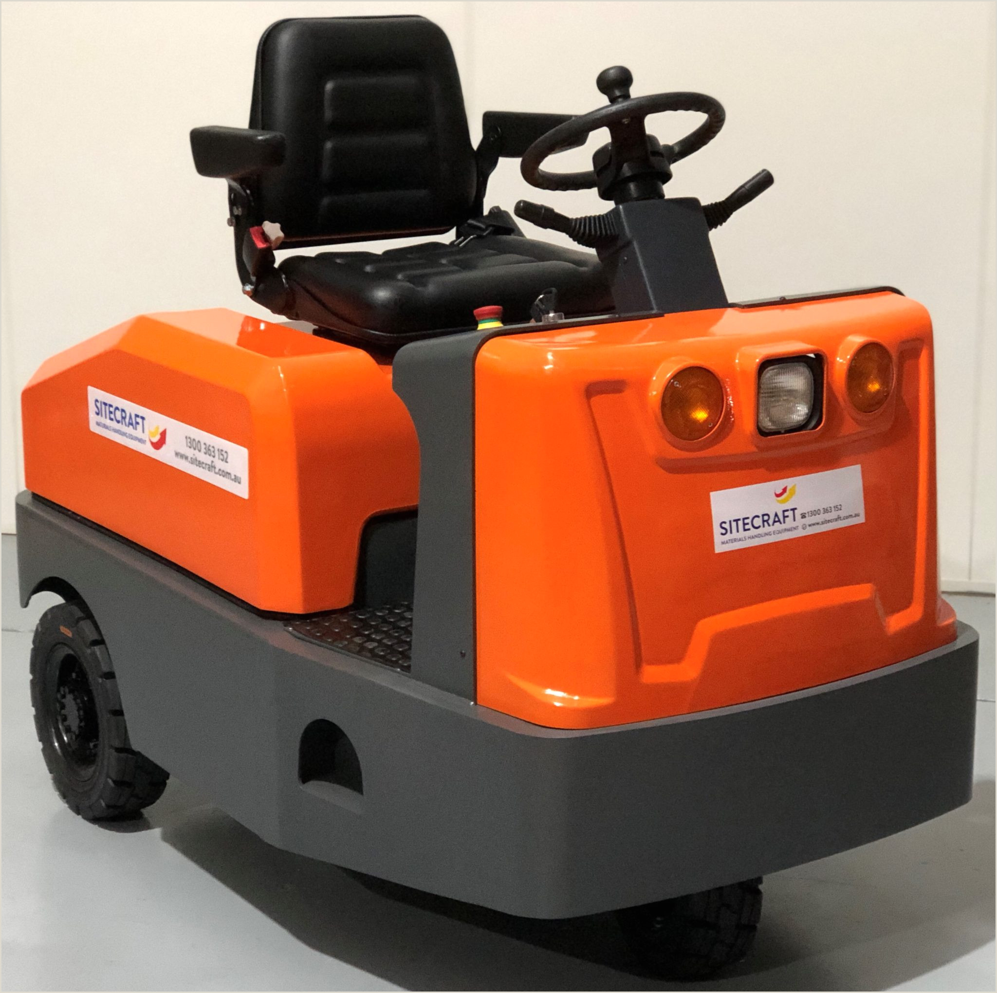 Freight Handler Job Description Electric tow Tractor