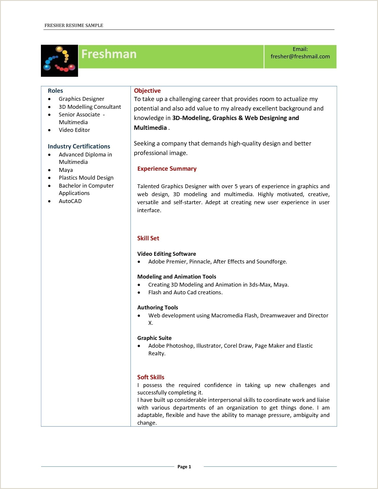 Fresher Accountant Cv Format Ccna Resume Sample Pdf Valid Resume For Ece Freshers