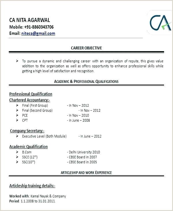 Fresher Accountant Cv Format Resume Format It Professional – Wikirian