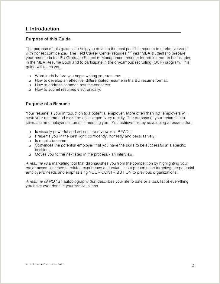 Fresher Cv format for Mba Mba Resume Template