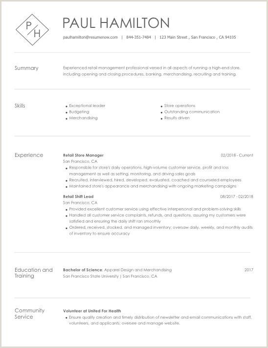 Fresher Cv format for Merchandiser 15 Resume formats Recruiters Love Presentation Matters